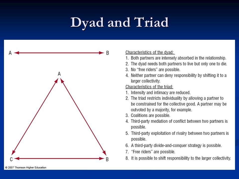 Dyad and Triad