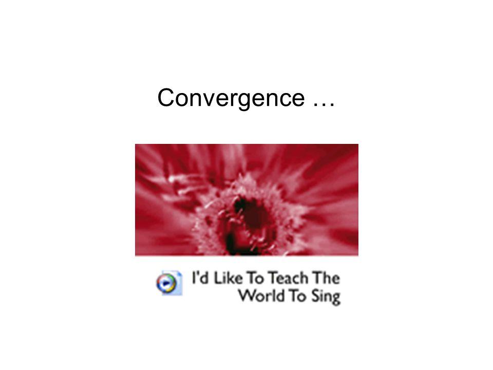 Convergence …
