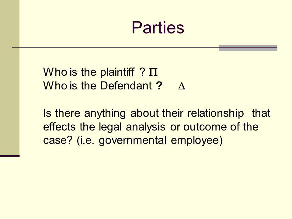 Reading Case Citations Smith v. Jones, 123 F.2d 456 (2d Cir. 1989) Cat. v. Bat, 123 U.S. 456,460 (1977). Hawkins v. McGee, 146 A. 641 (N.H. 1929) part