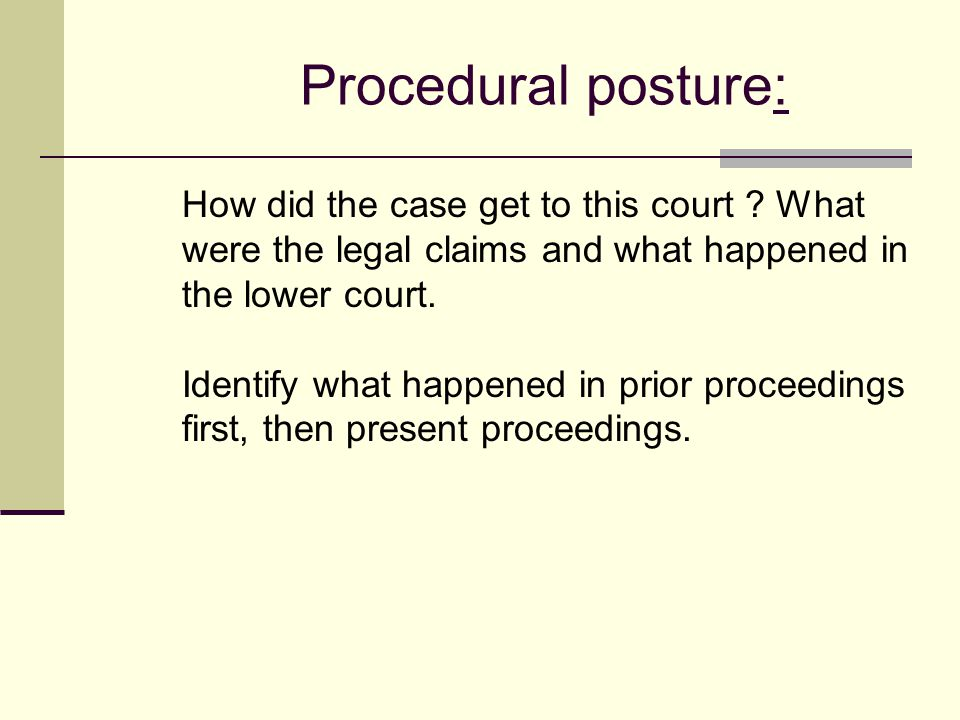 Relief Requested/ Legal Theories Used What do the parties want to happen? Money, injunction, summary judgment? What is the theory for recovery ? (i.e.