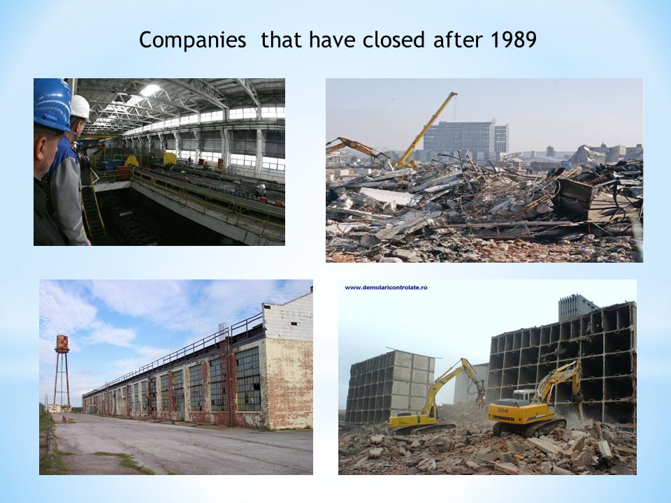 Companies that have closed after 1989