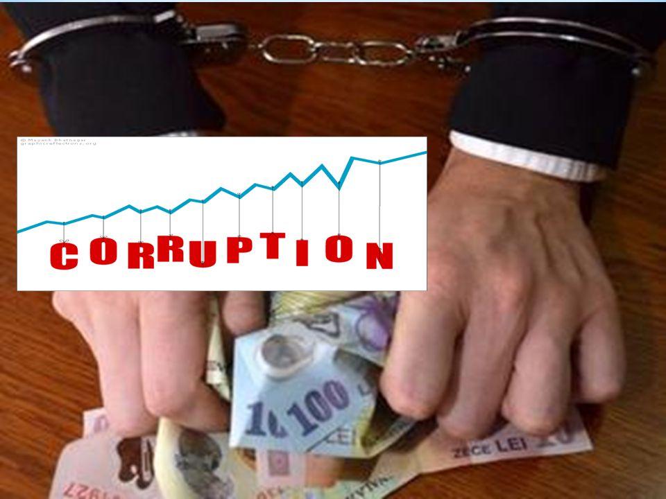 Corruption In Romania corruption is in power.