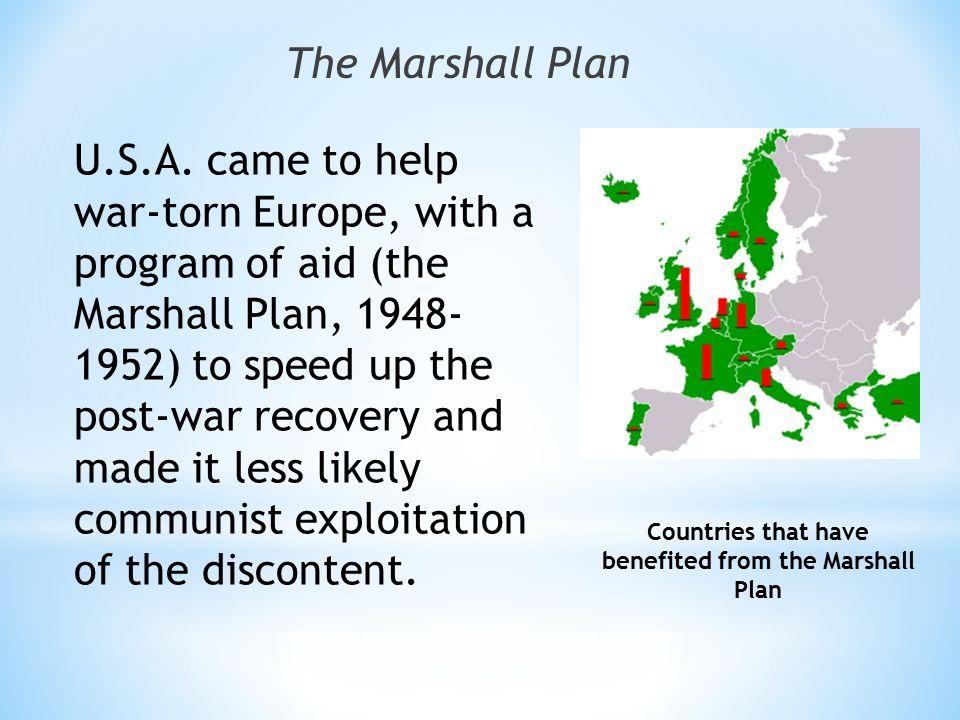 The Marshall Plan U.S.A.