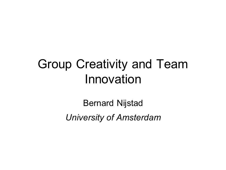 Collaborators / Co-Authors Carsten K.W. De Dreu (University of Amsterdam) Myriam N.