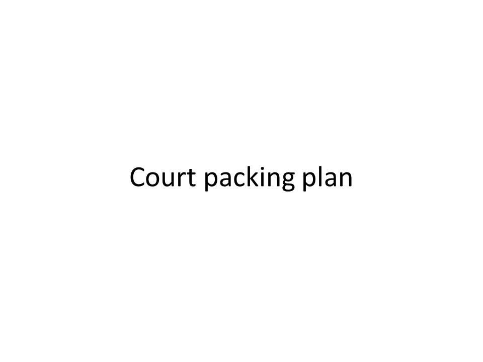 Court packing plan
