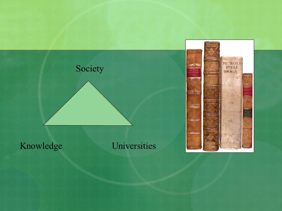 Society KnowledgeUniversities