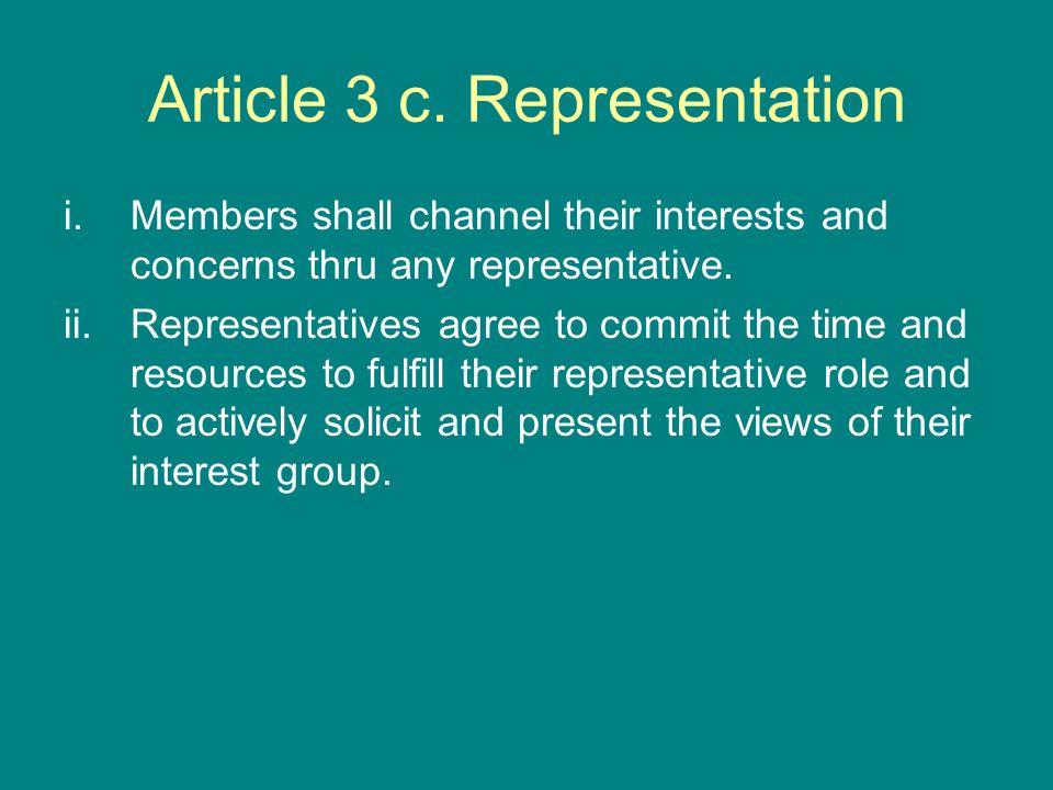 Article 3 c.