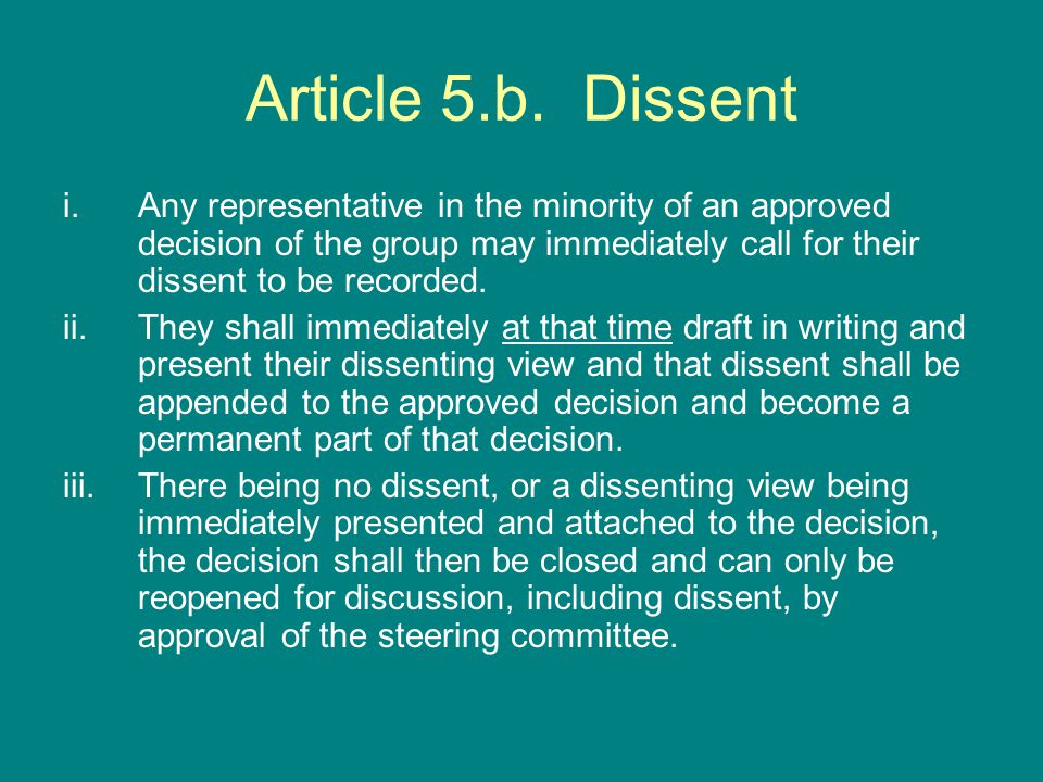 Article 5.b.