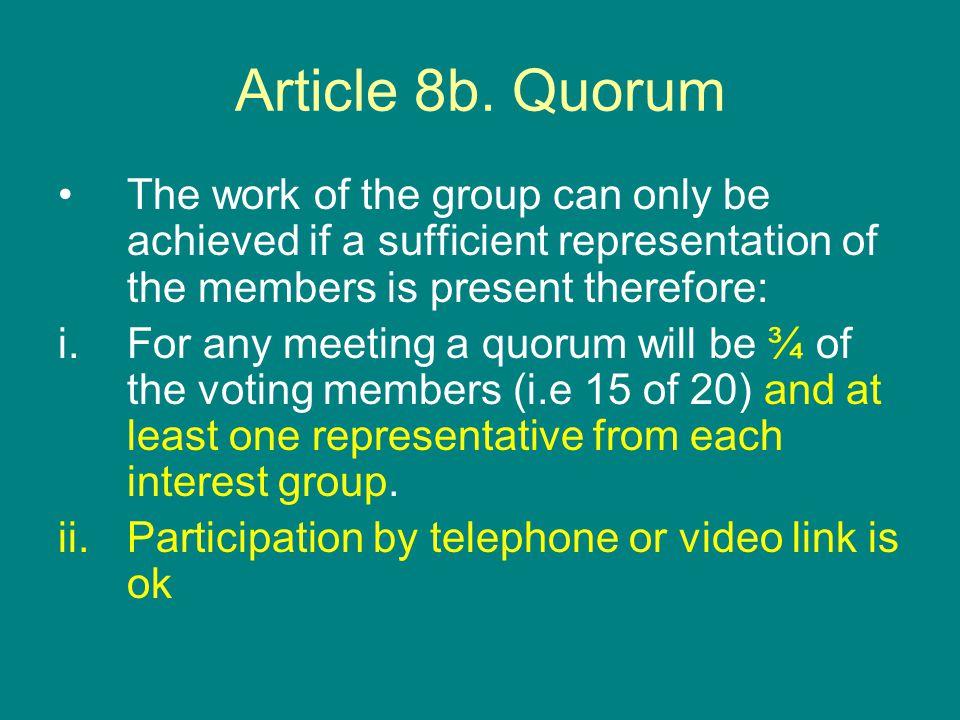 Article 8b.