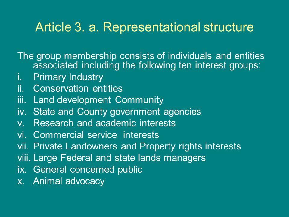 Article 3 b.