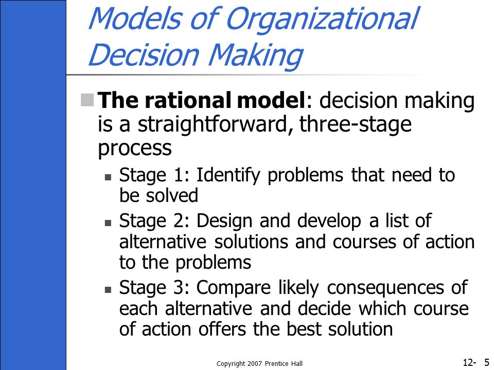 12- Copyright 2007 Prentice Hall 26 Figure 12-3: Cognitive Biases