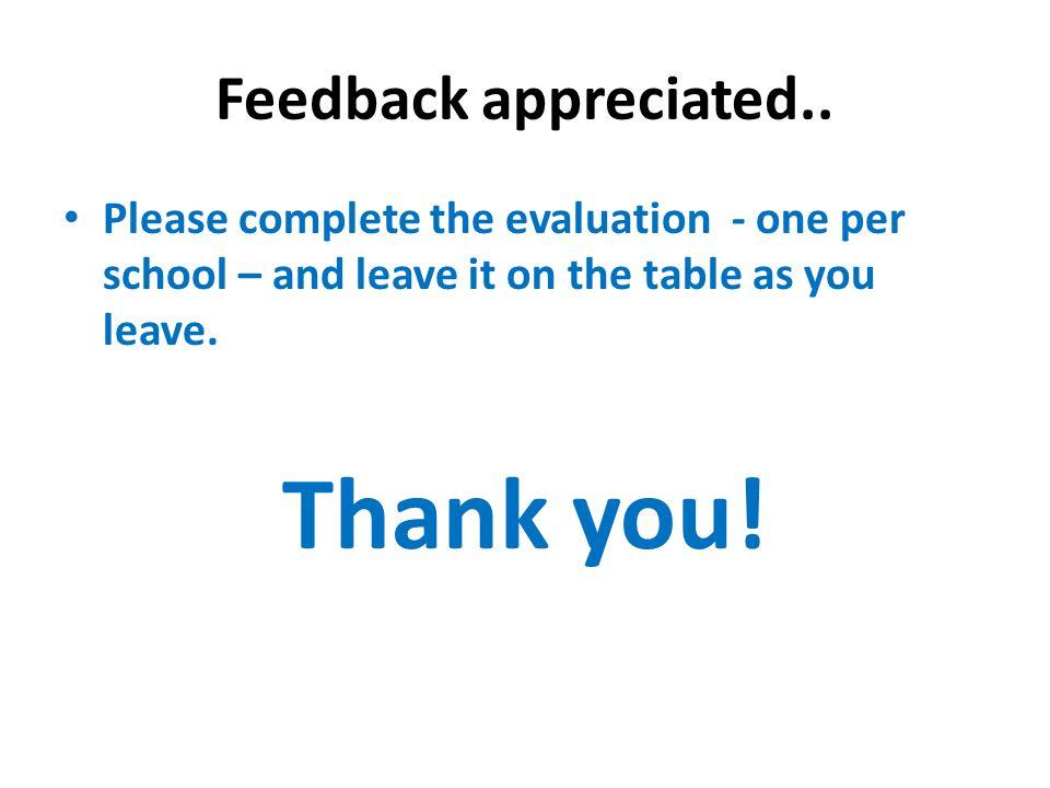 Feedback appreciated..