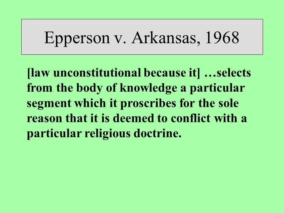 Epperson v.