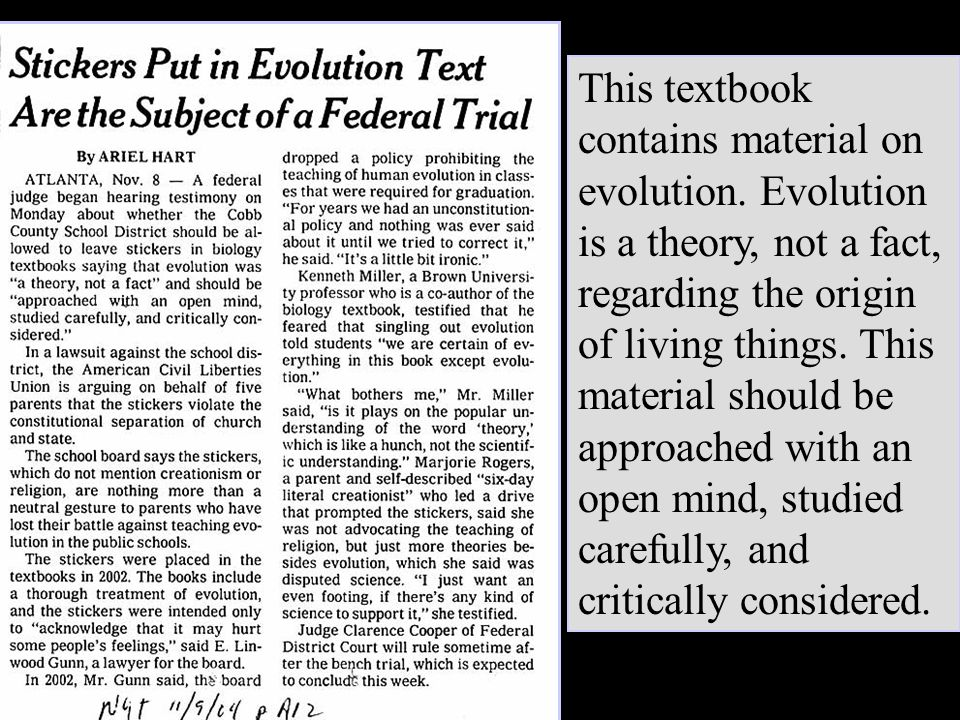 Jeffrey Selman This textbook contains material on evolution.