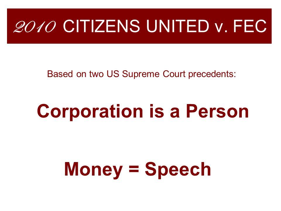2010 CITIZENS UNITED v.