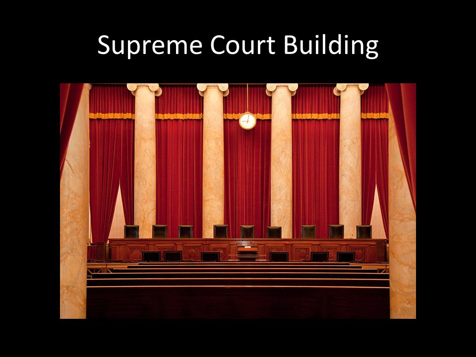 Development of the Supreme Court 1789 – Established the Judiciary Act Established a 3 tier structure for the federal court system – Local and district courts – Courts of appeals – Supreme Court – That's all they got done….literally The country was too young for there to be a lot of Supreme Court cases.