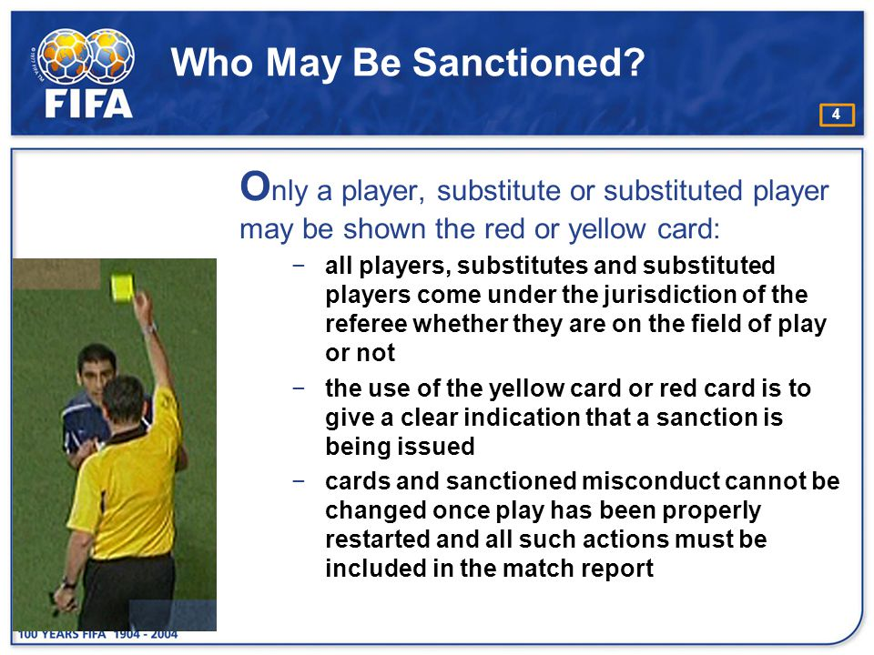 15 Circumstances when a player is cautioned for unsporting behaviour e.g.