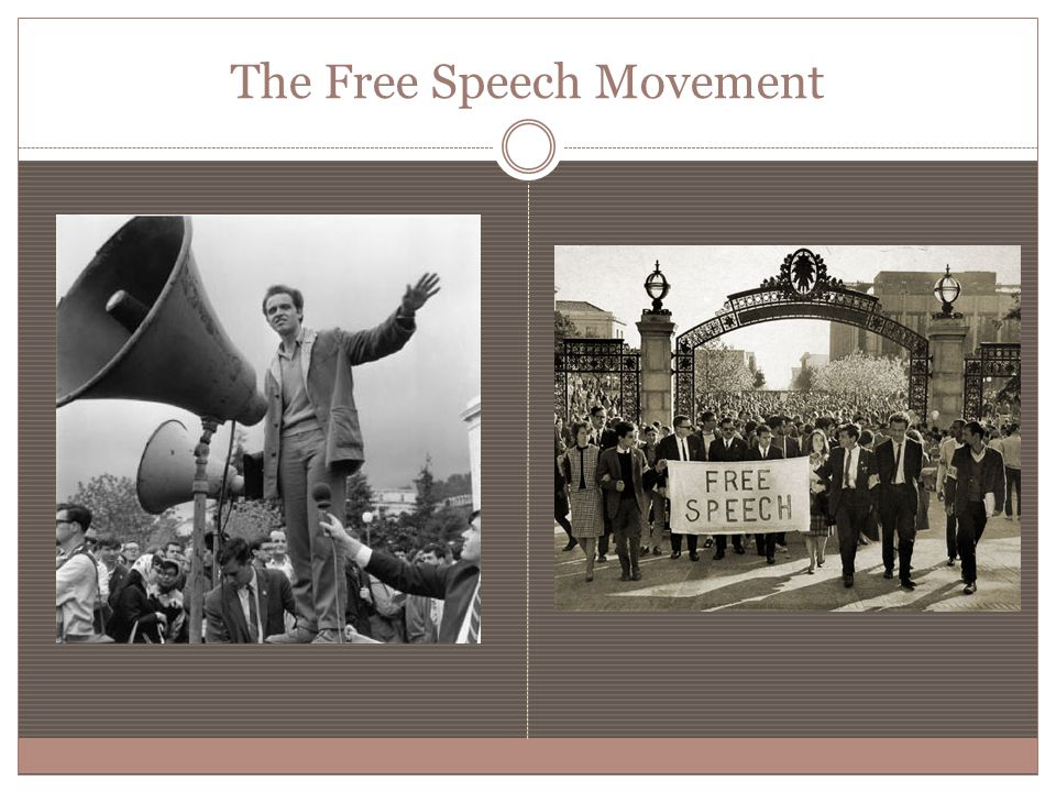 The Free Speech Movement