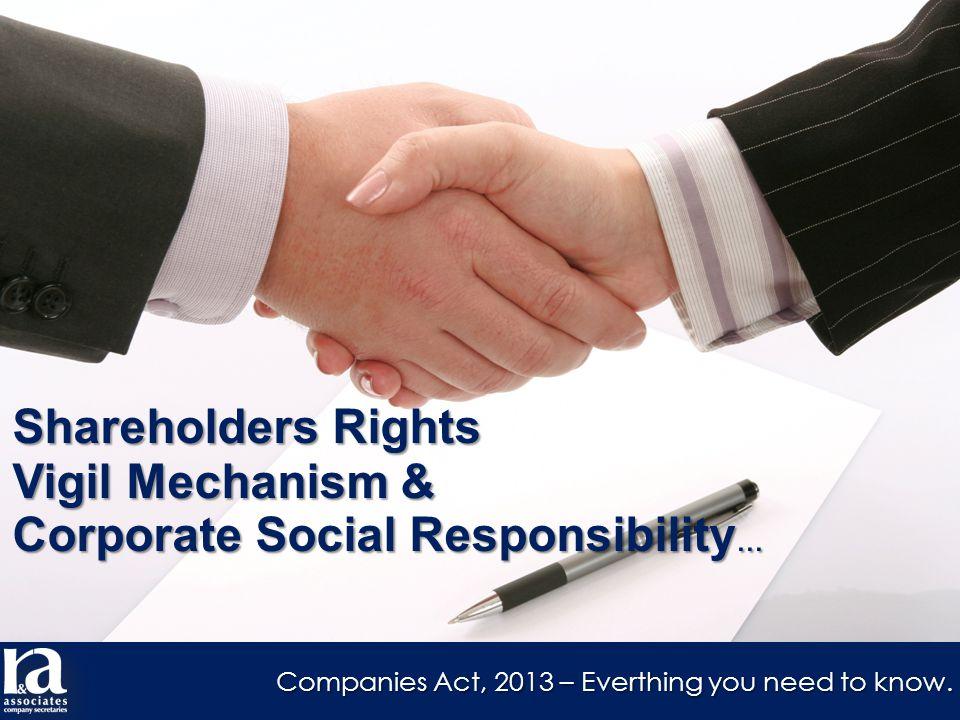 Shareholders Right