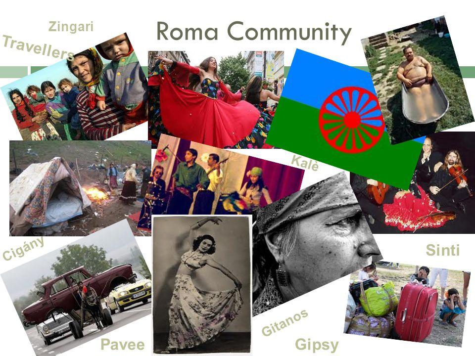 Roma Community Zingari Gipsy Travellers Gitanos Kalè Sinti Cigány Pavee