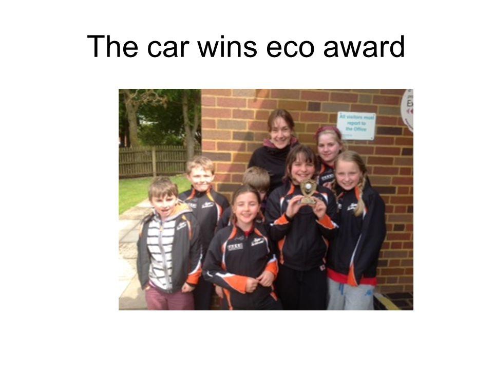 The car wins eco award