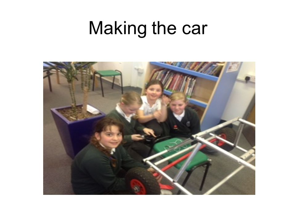 Making the car