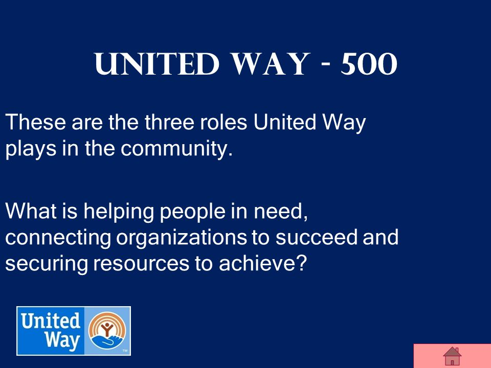 United Way of Midland County United Way - 400 Sally wants to volunteer. She goes to this amazing resource to search numerous local volunteer opportuni