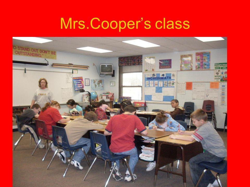 Mrs.Cooper's class