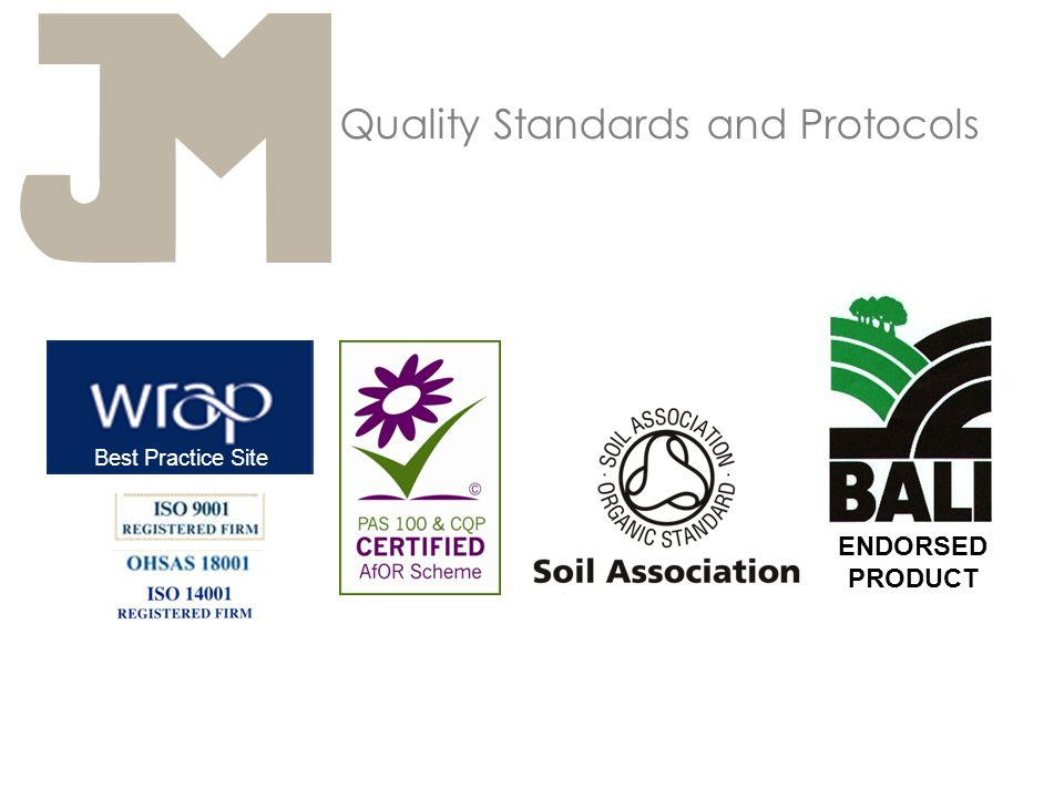 Quality Standards and Protocols Best Practice Site ENDORSED PRODUCT