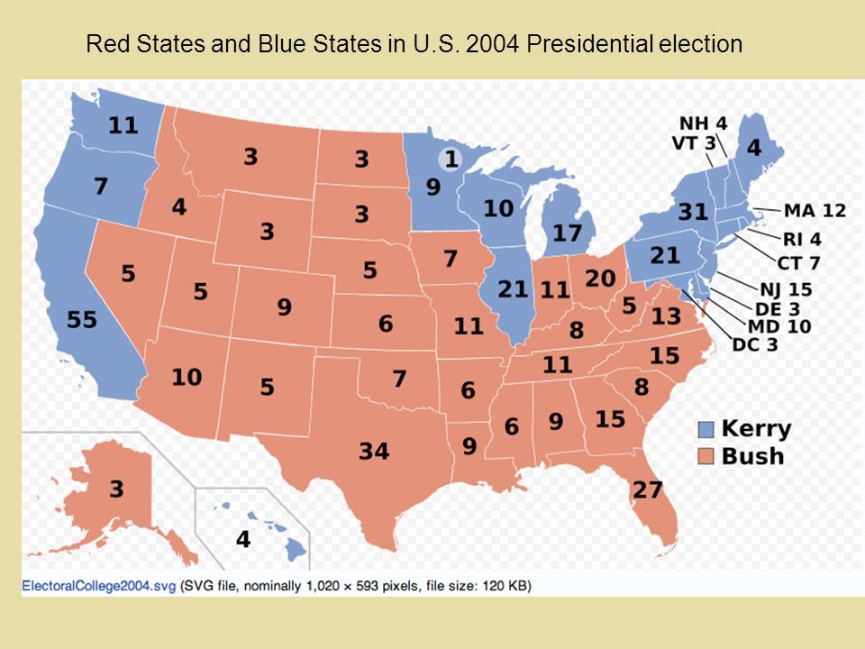The Inland North and the Blue States