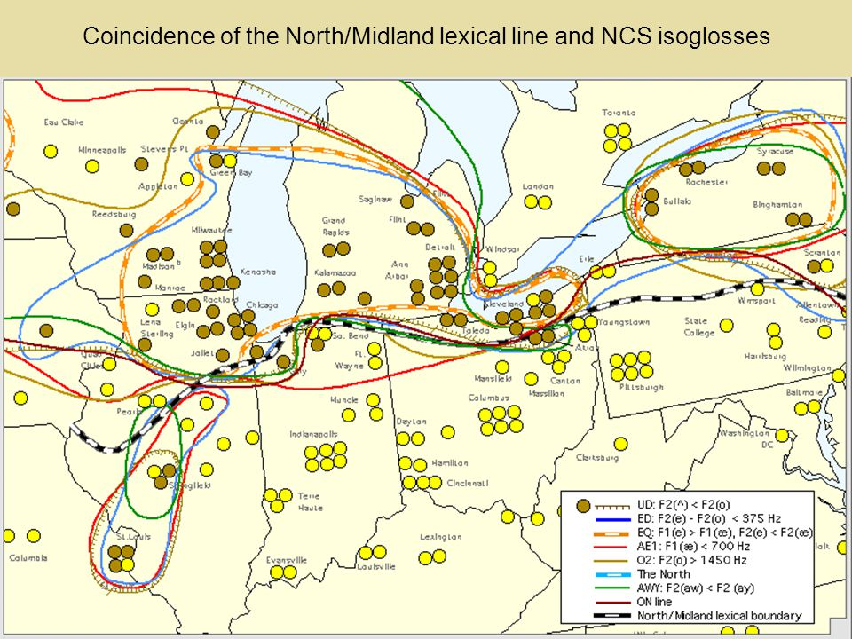 The North/Midland lexical isogloss