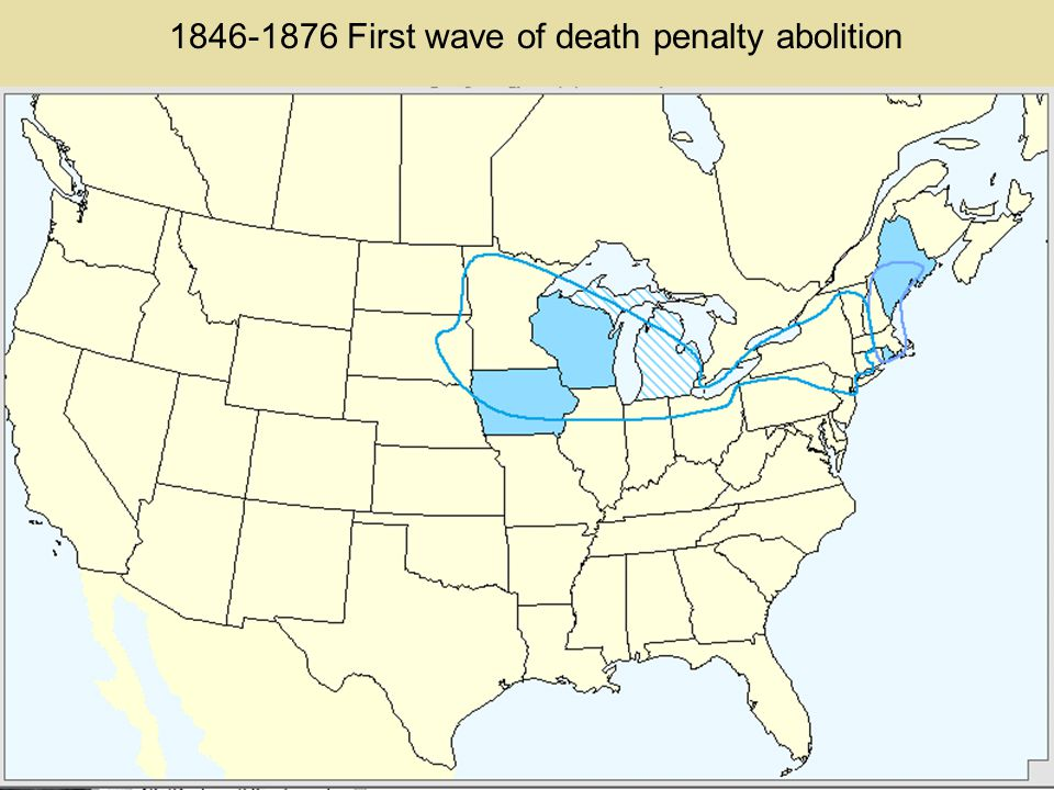 The role of the Northern States in the history of efforts to abolish the death penalty