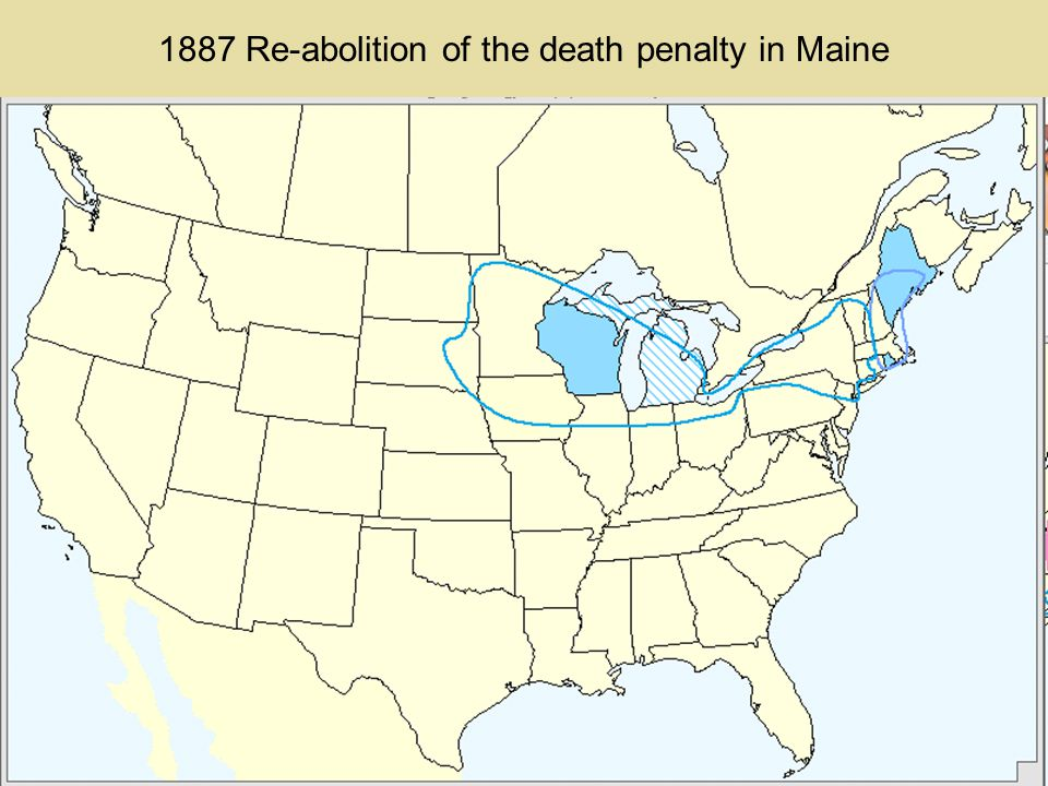 1878-1883 First wave of death penalty abolition receding
