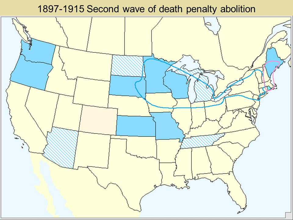 1887 Re-abolition of the death penalty in Maine