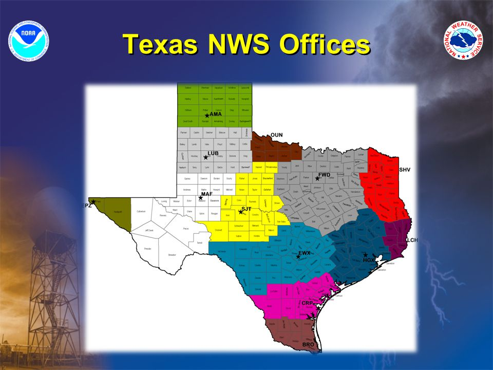 Texas NWS Offices