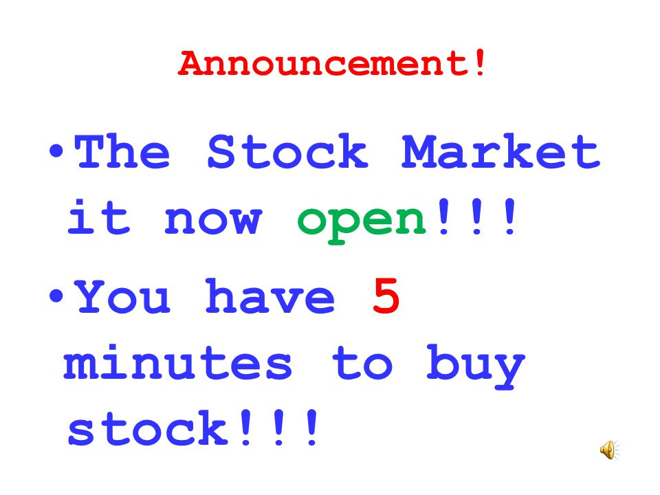 Complete your worksheet Now! Remember all company stock prices start at $10 per share in 10-share certificates (beginning price of $100 per certificat
