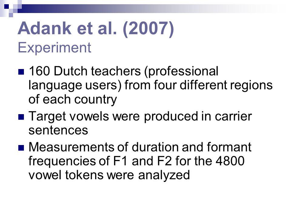 Adank et al.