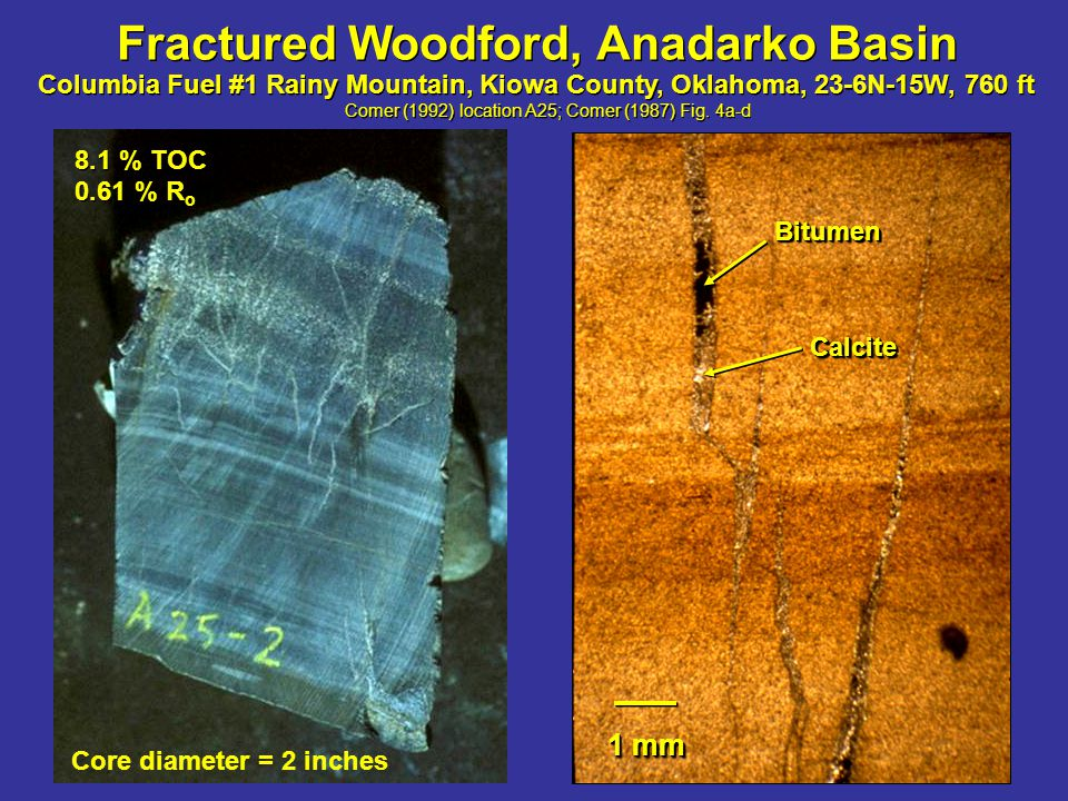 1 cm CalciteCalcite Humble No.43 Yarborough & Allen, Ward County, Texas, Section 66, E.