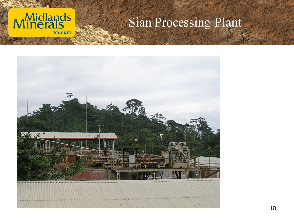 Sian Processing Plant 10