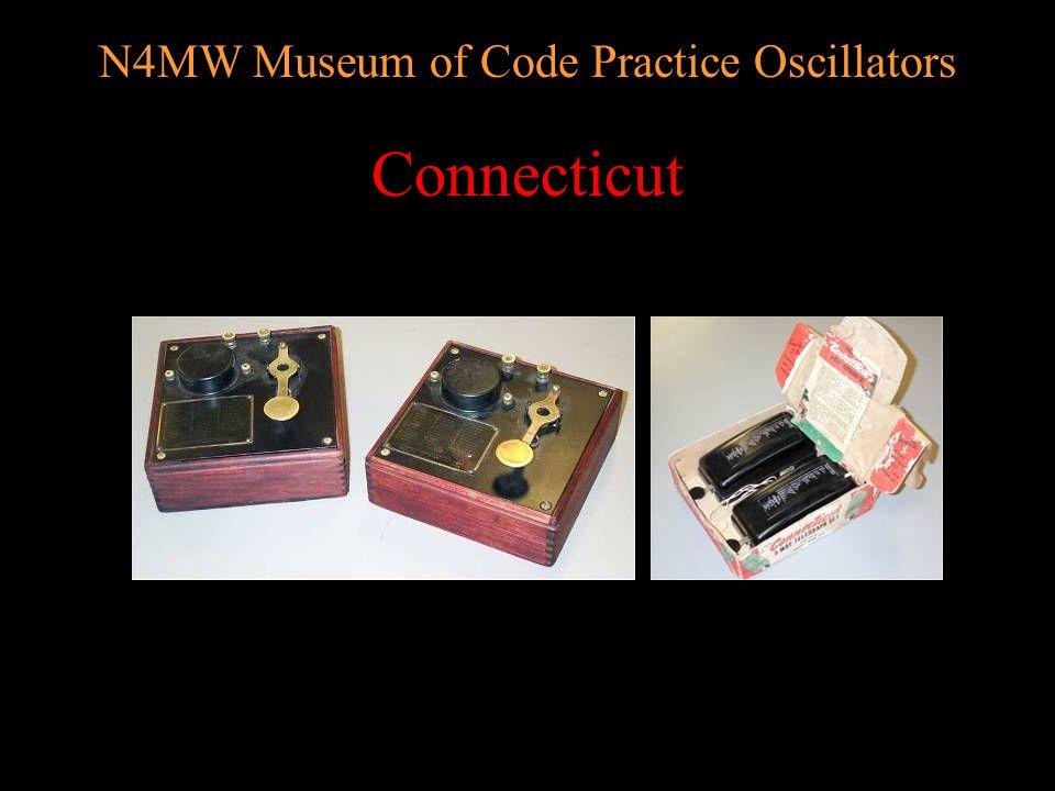 N4MW Museum of Code Practice Oscillators BSA