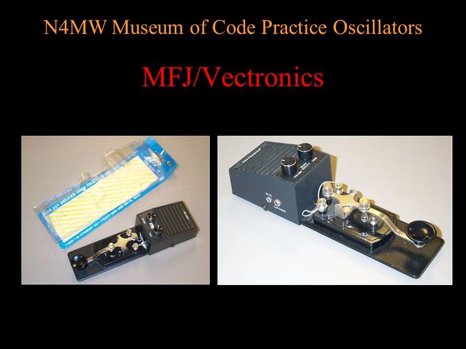 N4MW Museum of Code Practice Oscillators Metal Signaler