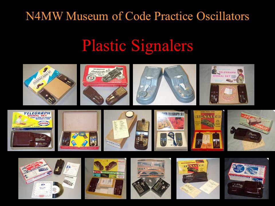 N4MW Museum of Code Practice Oscillators Monarch/Midland/TTC