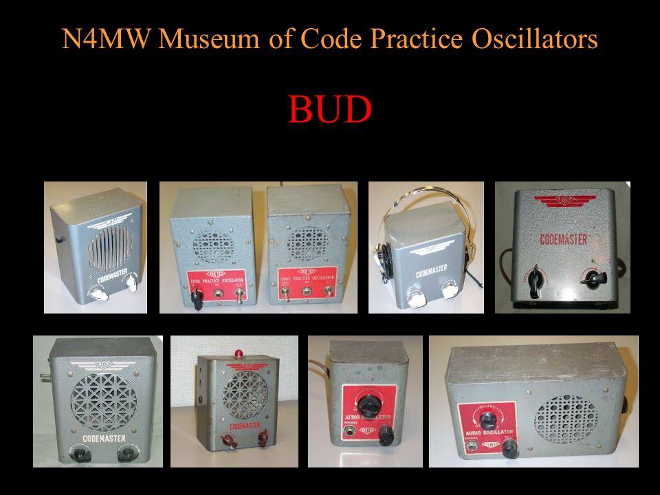 N4MW Museum of Code Practice Oscillators AMECO AerotronAMECO Model CPS