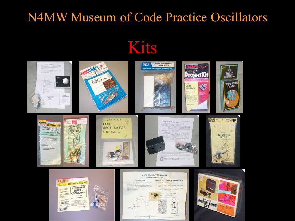 N4MW Museum of Code Practice Oscillators Classic