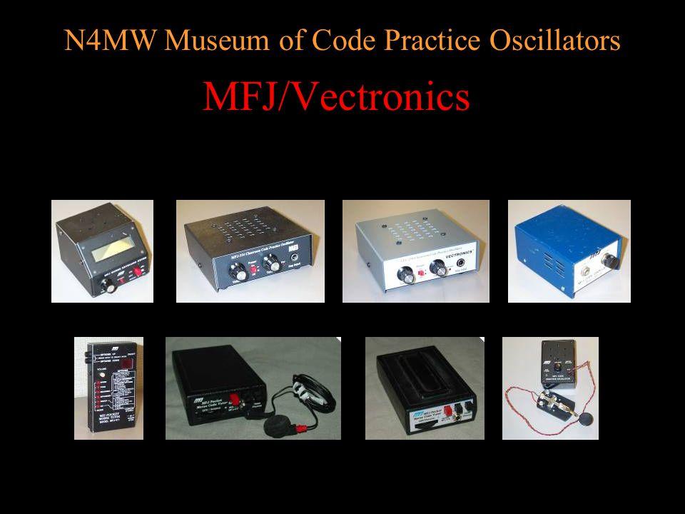 N4MW Museum of Code Practice Oscillators Kits