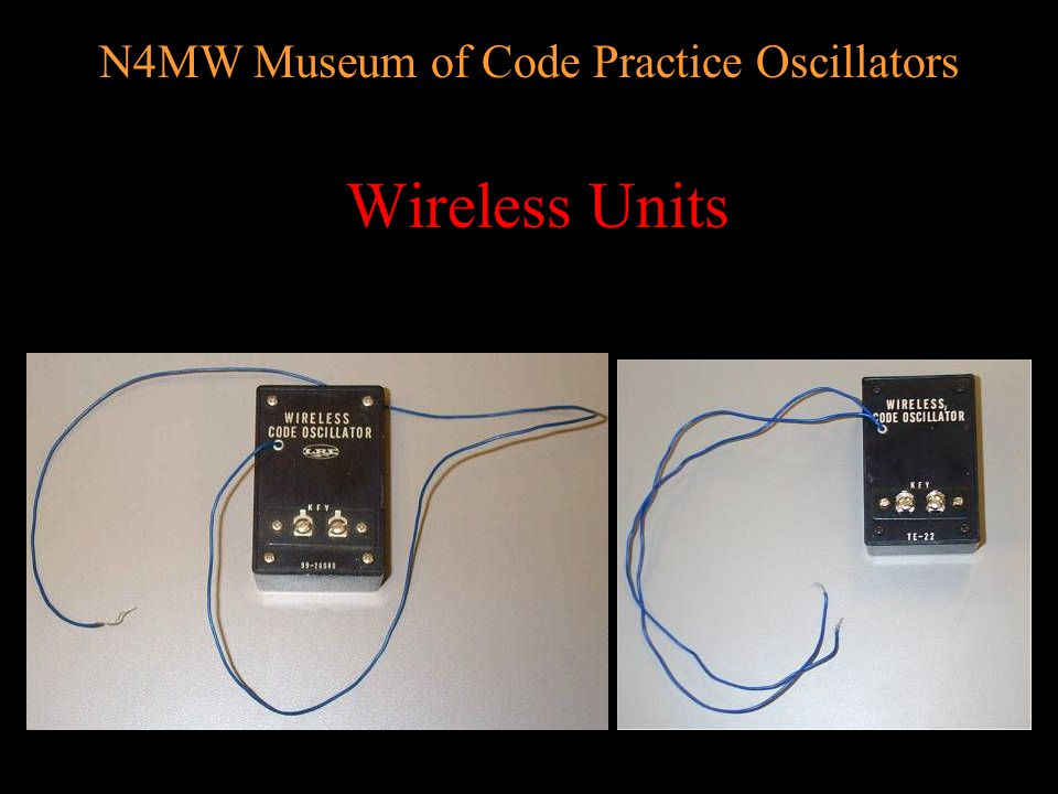 N4MW Museum of Code Practice Oscillators Toy, educational & novelty