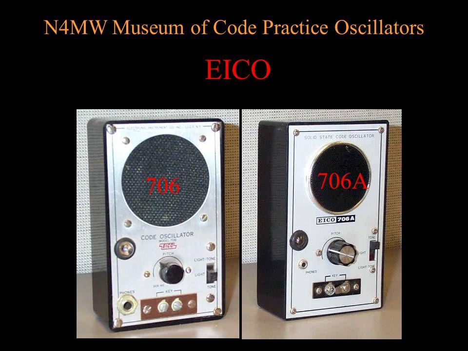 N4MW Museum of Code Practice Oscillators Calrad C. O. 5 (metal/plastic)