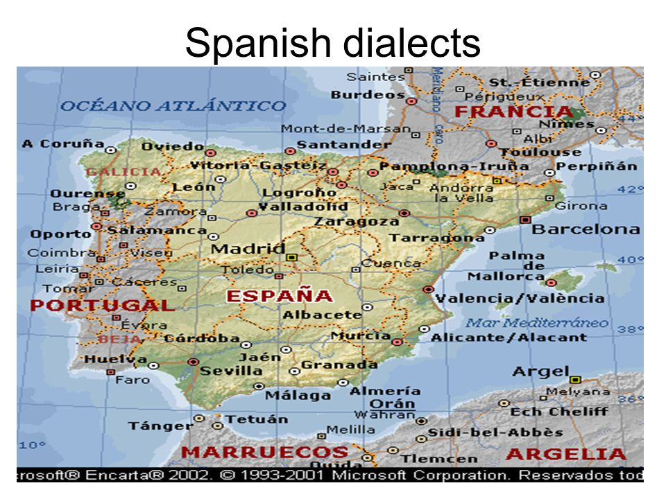 Spanish dialects