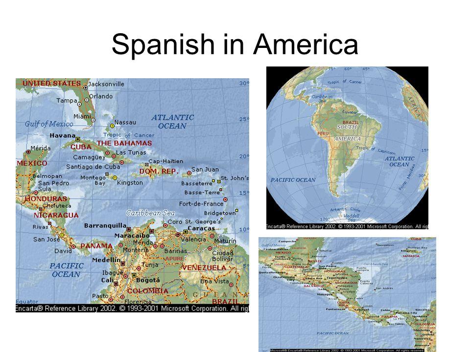 Spanish in America