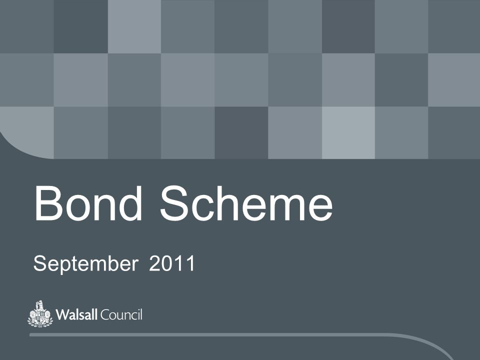 Bond Scheme September 2011